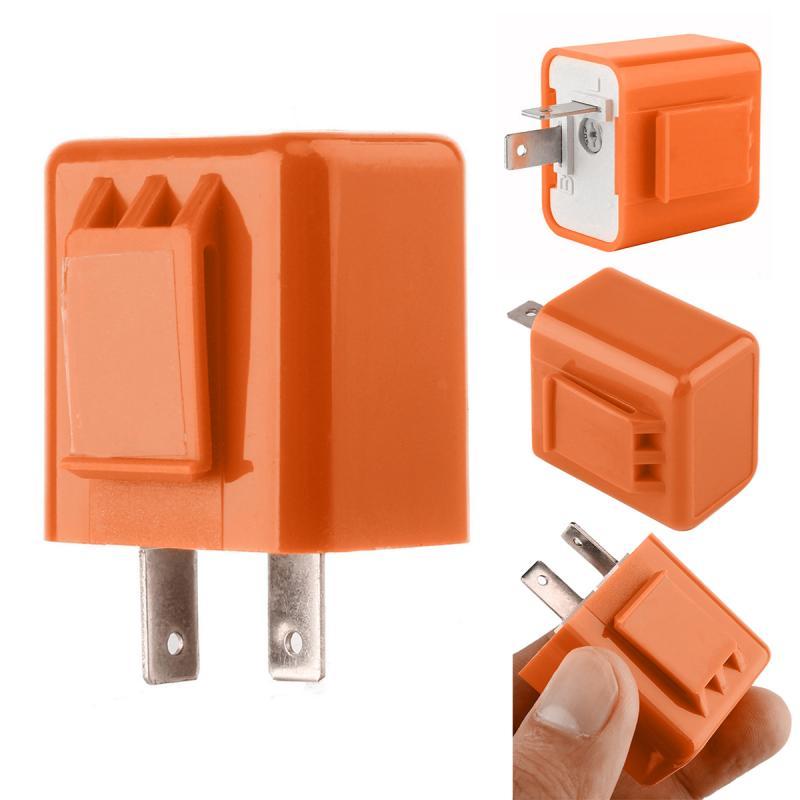 Светодиодный мигалка с регулируемой частотой, 12 В, 2 Pin|Переключатели для мотоцикла|   | АлиЭкспресс