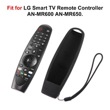 For LG AN MR600 AN MR650 AN MR18BA MR19BA Magic Remote Control Cases SIKAI smart OLED TV Protective Silicone Covers Shockproof