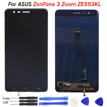 New LCD For ASUS ZenFone 3 Zoom lcd display Touch Screen Panel Digitizer For Asus ZE553KL Z01HDA Display Replacement ZE553KL LCD цена