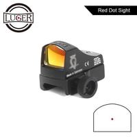 Red Dot Sight Scope Tactical Micro Dot Reflex Holografische Dot Sight Scope Hunting Optics Airsoft Air Gun Rifle Scope