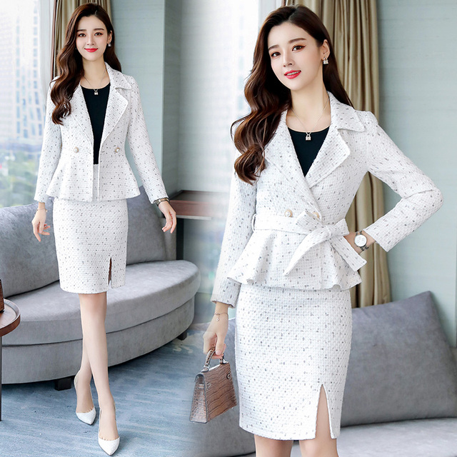 Women's two piece, pencil skirt and jacket suit