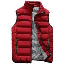 Жилет Для мужчин стильный осень-зима теплая куртка без рукавов армии жилет Для мужчин жилет Модные Повседневные Пальто Для мужчин s 10 Цвета 419