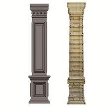 Стиль украшения дома и сада квадратный Римский пресс-форма-столбик бетонные столбы прессформы для продажи