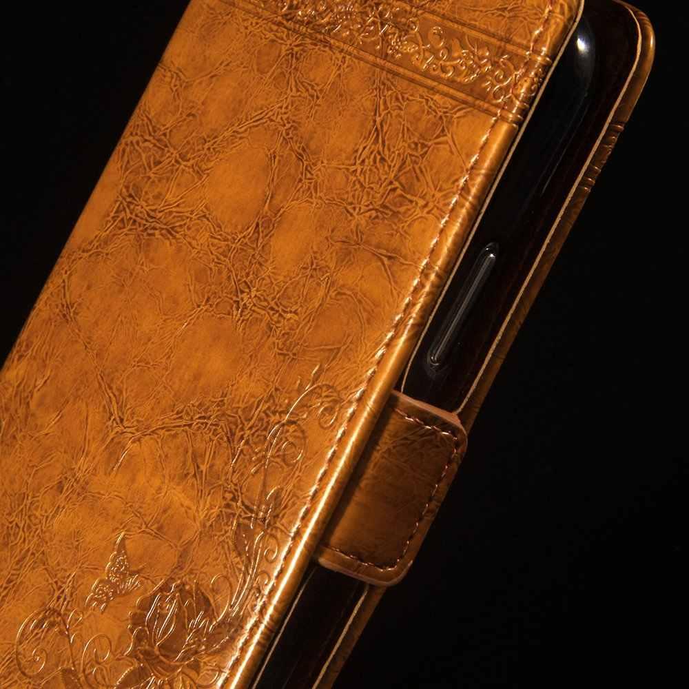 ASTUBIA جلدية حقيبة لهاتف أي فون XS ماكس غطاء خمر محفظة غطاء بولي يوريثان كوكه ل فون XI ماكس 8 7 6 6s زائد XR أصحاب عودة حالة