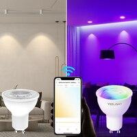 Yeelight GU10 Smart Bulb W1 Multicolor dimmerabile 350 Lumen lampadina a LED Smart Work con Yeelight App Google Assistant Alexa Mijia