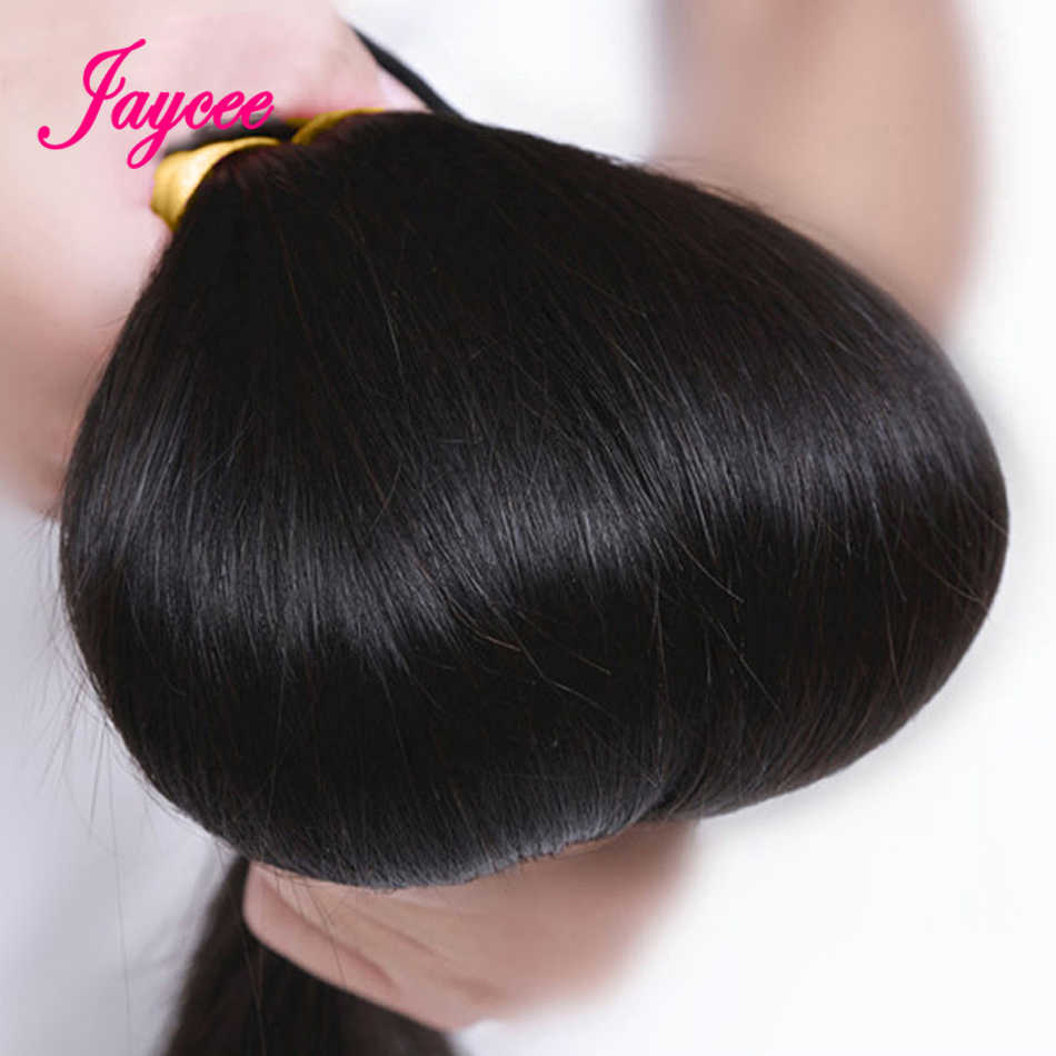 Extensiones de pelo ondulado brasileño Tissage Bresiliens Cheveux Humain paquetes de pelo lacio 1/3/4 piezas/lote de extensiones de cabello humano