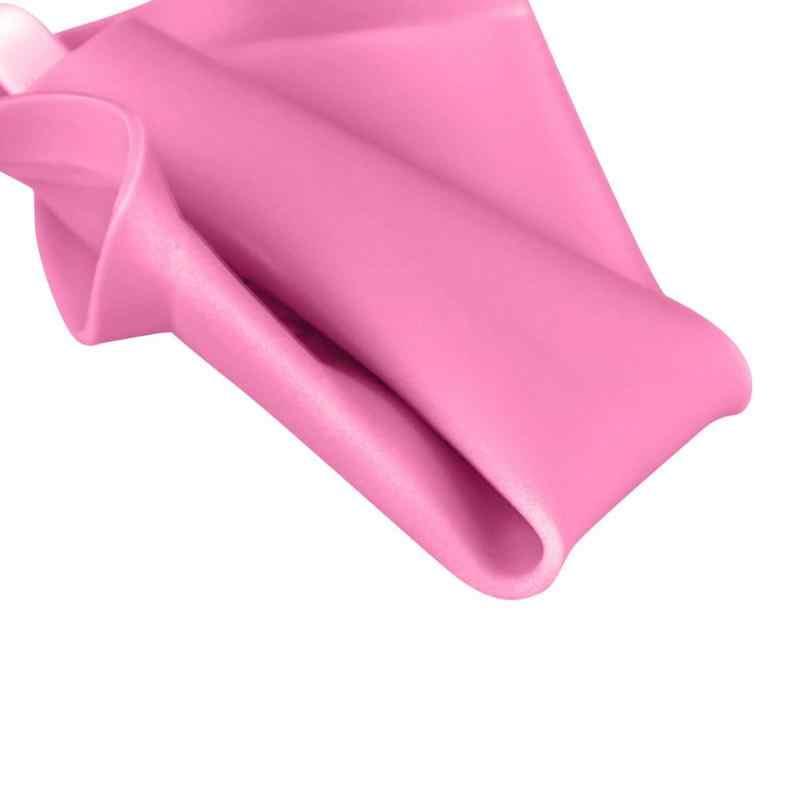 ผู้หญิงอุปกรณ์ปัสสาวะแบบพกพาปัสสาวะกลางแจ้งยืนขึ้นโกหกตำแหน่ง Reusable สุขอนามัย Pee ปัสสาวะอุปกรณ์สีชมพู