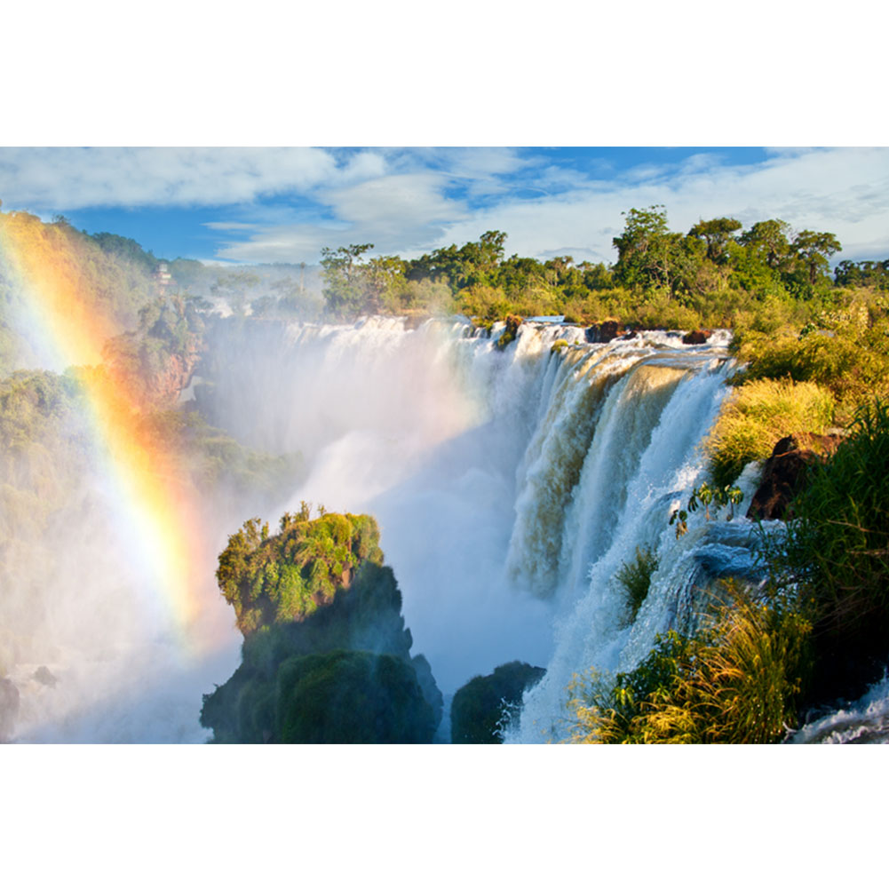 Puzzle 1000 Pieces  Mountain Waterfall Adult Puzzles Kids Jigsaw Educational Toys For Children Puzzle Adulto Gifts