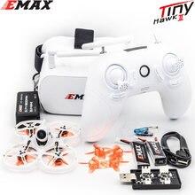Emax Tinyhawk S II FPV гоночный Дрон с F4 FC, двигатель 16000KV, поддержка 1-2S Lipo батареи 5,8G FPV очки игрушки Новогодний подарок