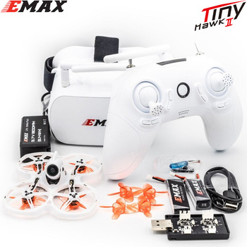 Emax Tinyhawk S II FPV Racing Drone With F4 FC,16000KV Motor,Support 1-2S Lipo Battery 5.8G Glasses New Year Gift - discount item  15% OFF Remote Control Toys