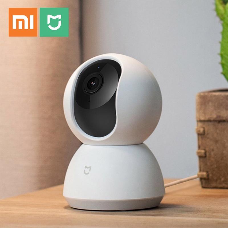 ใหม่ Original Xiao Mi Mi Mi Jia กล้อง 1080P กล้อง IP CAM เว็บแคมกล้องวิดีโอ 360 องศา WiFi ไร้สาย night Vision สำหรับ Mi Home