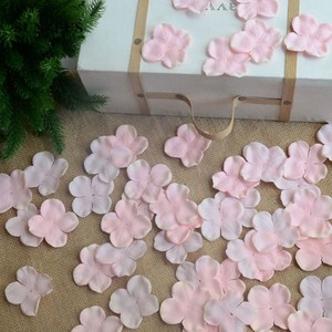 Image 5 - 4.5CM Flower Girl Petals Artificial Rose Petals Polyster Cloth Wedding Petals Party Decoration Evening Flowers Accessories SJ007