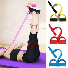 In Stock Resistance Elastic Pull Ropes Exerciser Power Belly Resistance Band Home Gym Sport Training Band Fitness Equipment