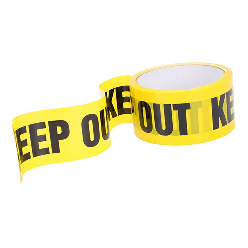 NEW-KEEP OUT Barricades Tape 25 M Construction Site Packing To Secure Place Pickup!