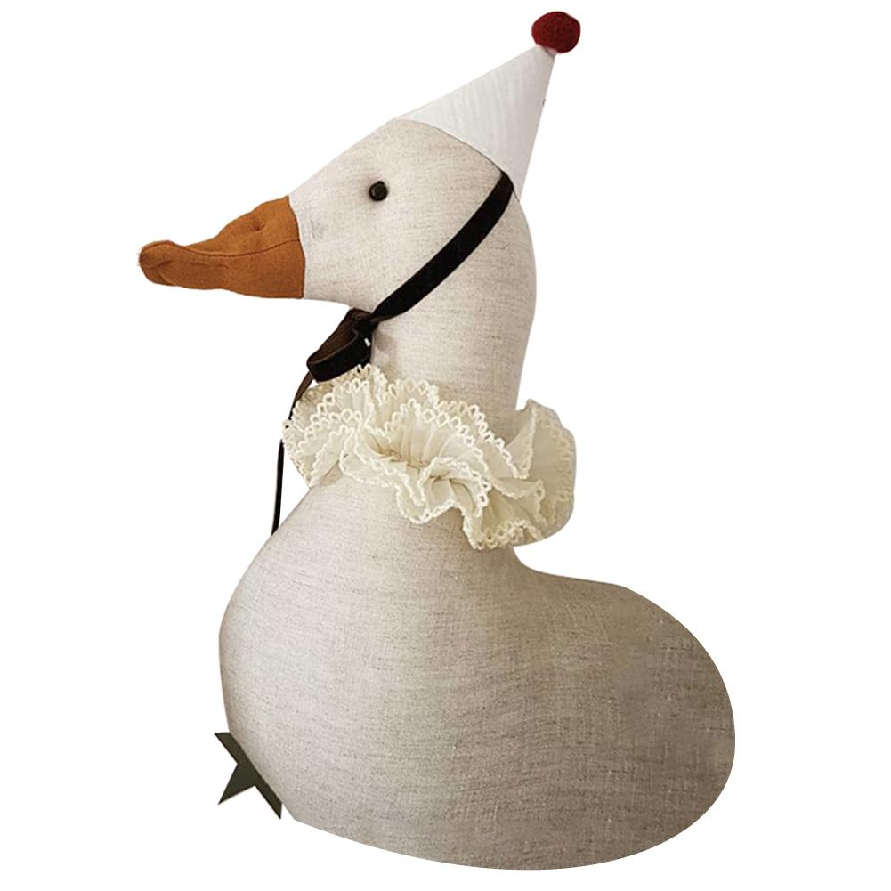 Fashionable Duck Cotton Stuffed Doll Children Room Decoration Photo Accessories Duck Shape Design Durable Room Decoration