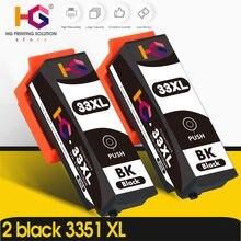 2 черный 33xl чернильный картридж для epson xp 530 / 630 830