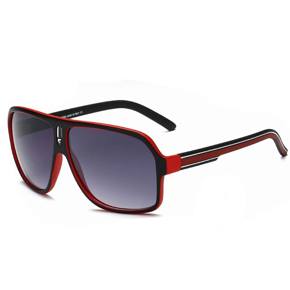 XaYbZc Square Clear Big Box Sunglasses Women Retro Luxury Fashion Sunglasses Men UV400 Lentes De Sol Mujer