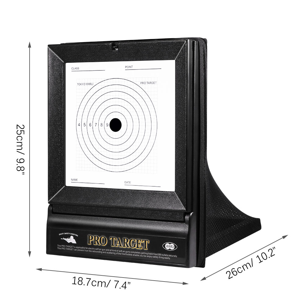 Shooting Target Airsoft Toy Gun Paper Target For Training Airgun Hunting Paintball Accessory Outdoor Sport Wargame