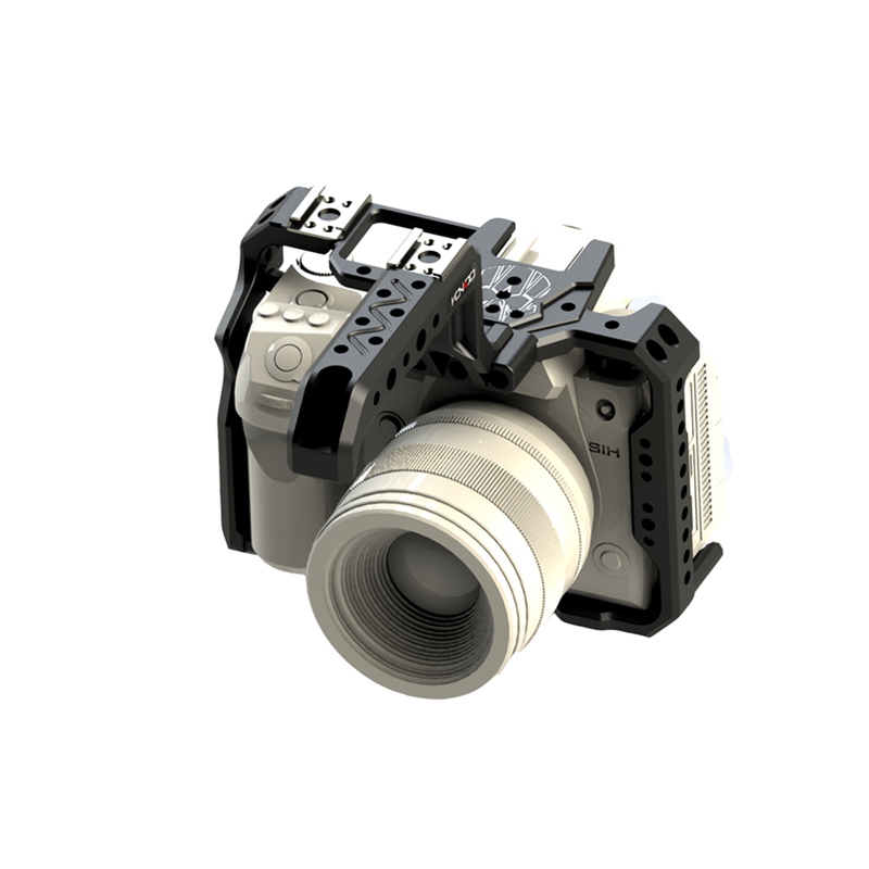 Image 4 - HONTOO S1H 一眼レフカメラ用パナソニック Lumix S1 S1R S1H 木製ハンドルトップハンドル 15  ミリメートルベースプレート    グループ上の 家電製品 からの フォトスタジオ用アクセサリー の中