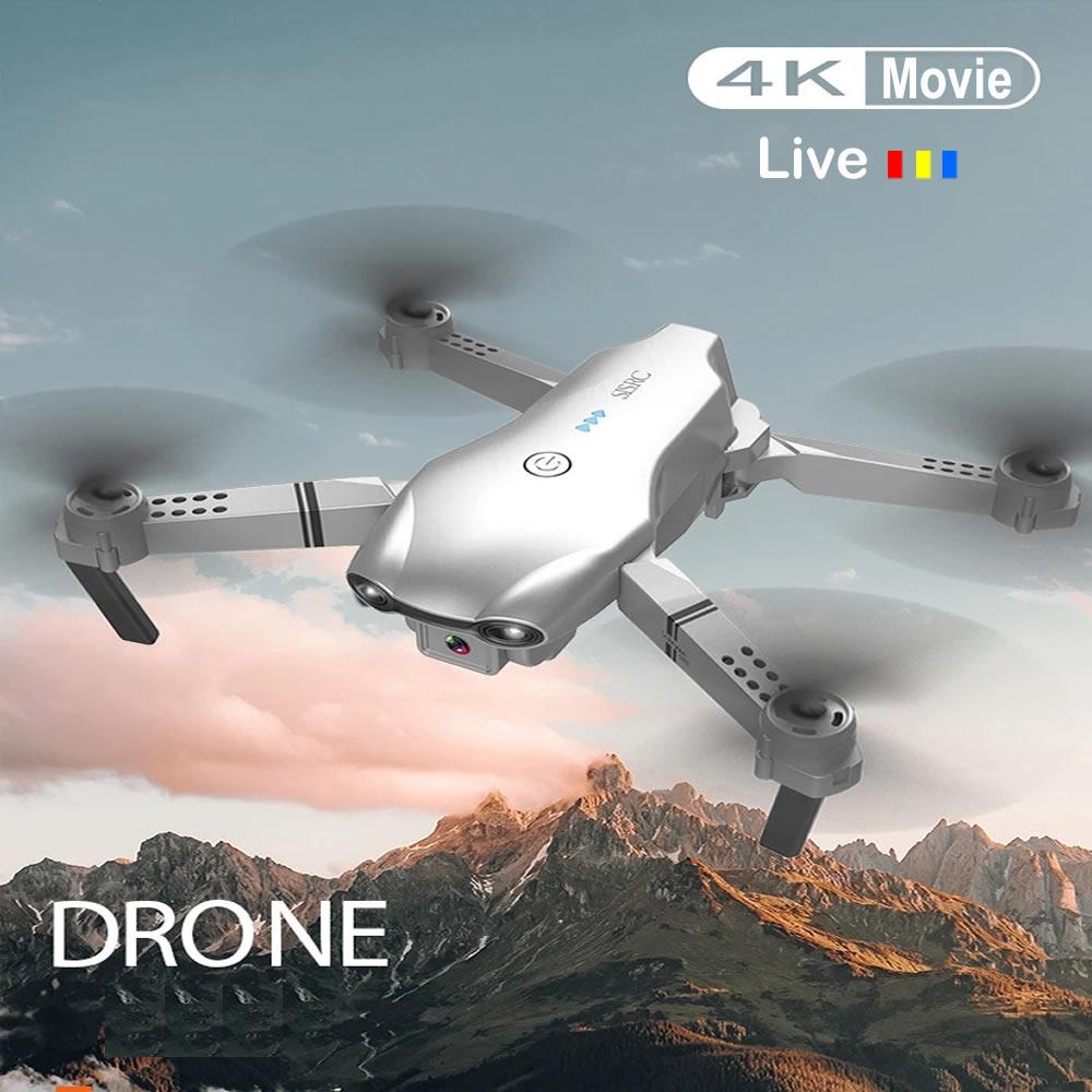 Rc zangão fotografia aérea uav wifi quadrocopter com câmera 4k dobrar 4-axis dobrável de controle remoto aeronave global brinquedos quentes