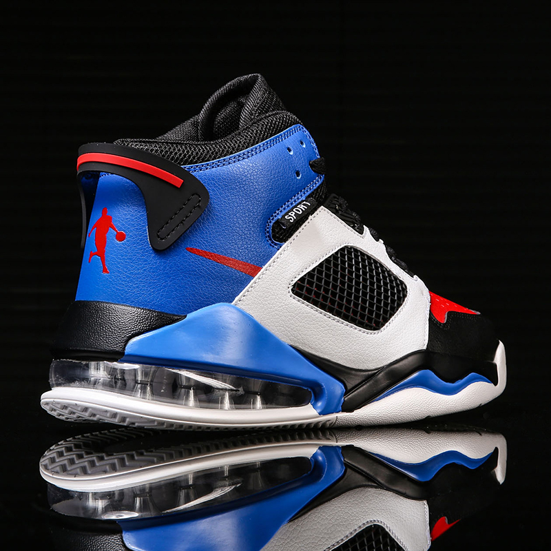 New Design Sports Basketball Shoes Men High Top Retro Athletic Shoes Breathable Basketball Sneakers Boys Training Boots Man 2020