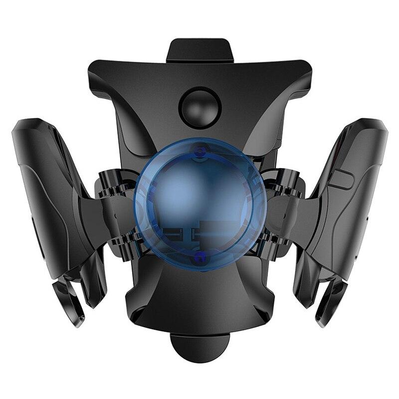 Контроллер PUBG для мобильных телефонов, трансформатор с быстрым триггером для шутеров, геймпад для iPhone 11 Pro Max, охлаждающий вентилятор, джойст...