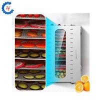 Secador de aço inoxidável do armário do desidratador do alimento da máquina seca do fruto comercial Desidratadores     -