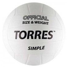 Мяч волейбольный Torres Simple, размер 5
