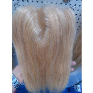 1Pcs Color Blonde 613# Silk Base Closure Straight (5*5) Cabelo Products Lace Closure Cabelo Hair Smooth, Free shipping