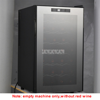 7 Layer 68L Electric Red Wine Cabinet Constant Temperature Stainless Steel Commercial Ice Bar Mini Wine Refrigerator TL 68