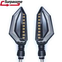 Clignotants à 18 LED universels pour motos, accessoires de motocyclettes, pour Yamaha XT 600, FZ6, FZ8, MT 07
