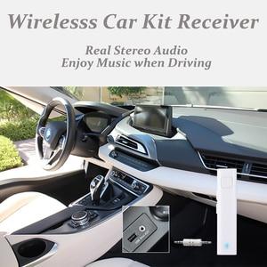 Image 2 - Receptor Bluetooth con traducción, adaptador inalámbrico de entrada para Audio estéreo de 3,5mm, compatible con tarjeta TF, AUX, Kit de coche para auriculares Spkeaker