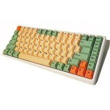 Hamimeloen Cherry Profiel Keycaps Dikke Pbt Kleurstof Gesublimeerd Voor Cherry Mx Switches 61 64 84 96 108 Minila Mechanische toetsenborden