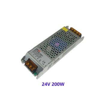 цена на SANPU Dimmable LED Driver 24V 8A 200W Triac & 0-10V Dimming 2in1 Power Supply 24VDC 220V 230V AC/DC 24Volt Lighting Transformer