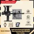 NEJE Master 3500mW Laser Gravur Maschine Mini DIY CNC Kupferstecher Desktop Holz Router/Cutter/Drucker für Windows, mac