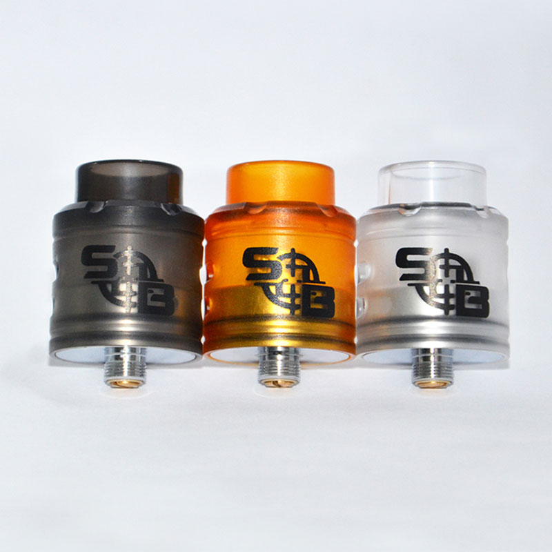 SXK Apocalypse RDA 24mm Adjustable With Pin BF Vaporizer Adjustable Airflow Control Rebuilding Tank Vs Goon V1.5 Rda Le Dripper