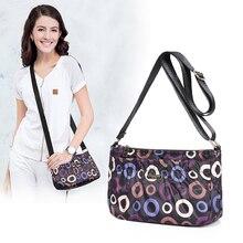 Nylonowa torba damska multi pocket wodoodporna torba na ramię Mommy lekka wielofunkcyjna wielowarstwowa torebka torebka