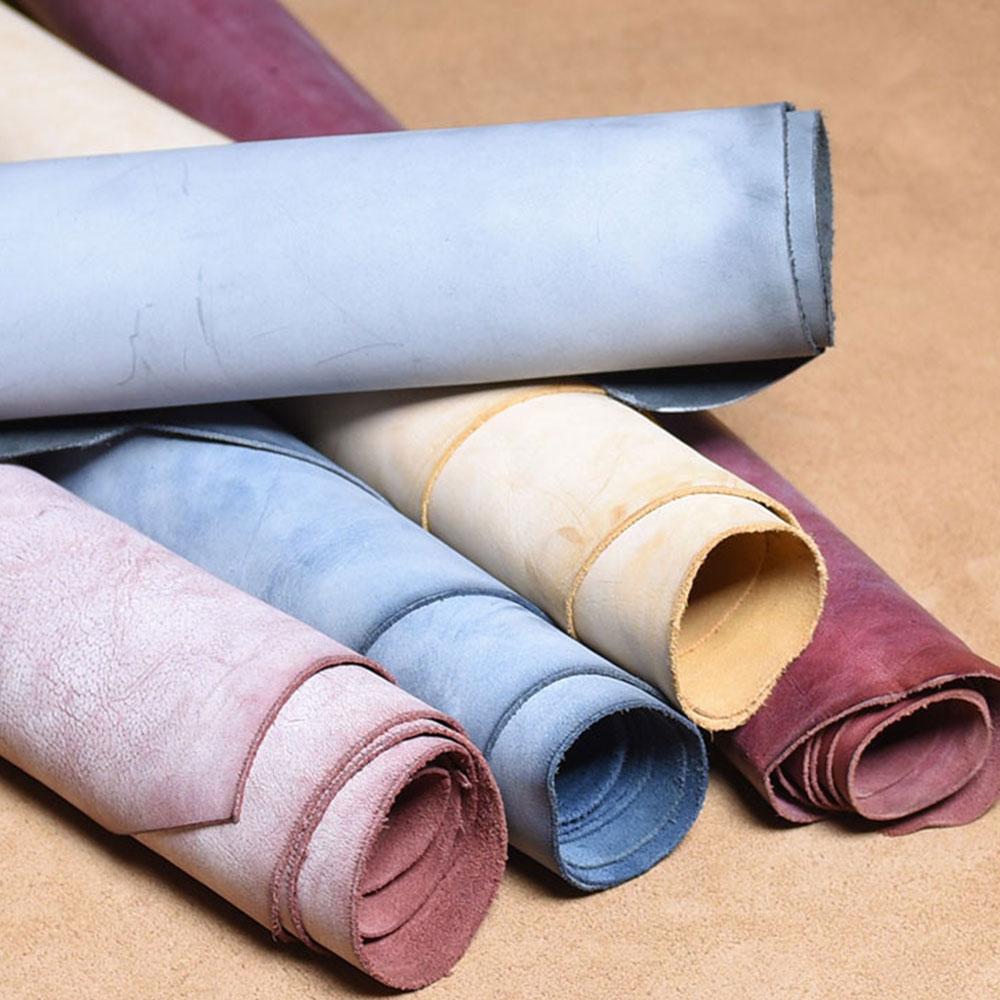 Воловья кожа кусок туман белый воск дубления кожаный материал полировка воска отделка Сделай Сам натуральная кожа ремесло 3 вида цветов в наличии|Натуральная кожа|   | АлиЭкспресс
