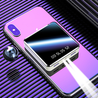20000 mah portátil mini power bank espelho tela digital disply poverbank bloco de bateria externa powerbank para o telefone móvel inteligente|Baterias Externas| |  -