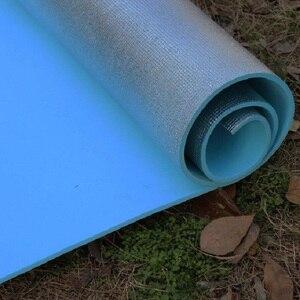 Image 4 - Outdoor camping mat air mattress picnic blanket picnic mat pads Aluminum Foil mat Camping Dampproof beach mat 180*50*0.6cm