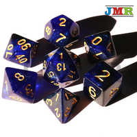Universe Galaxy Dice Multi-Sided Dice with Dragons and Dungeons Games Dice Set, Dados Dungeons and Dragons, Gaming Cube