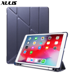 Image 1 - For iPad 10.2 2019 Air 3 2 1 Case with Pencil Holder For iPad 9.7 2018 6th 7th Generation Case For iPad Pro 11 10.5 Mini 5 Funda