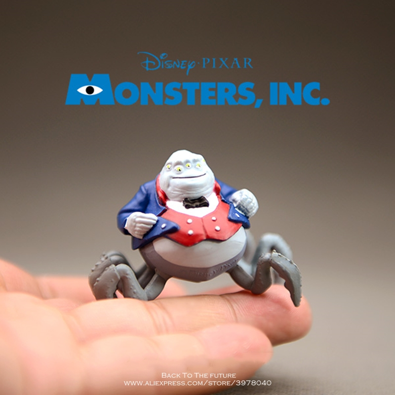 Disney Monsters University Henry 4.5cm Action Figure Anime Collection Figurine Doll Mini Toy Model For Children Gift