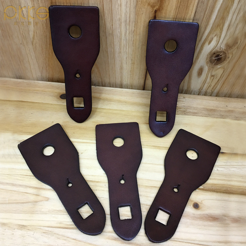 10pcs,Belt Accessories Head Layer Cowhide Leather Belt Hook Show Skin Tags Automatically Pin Buckle General, Belt Accessories