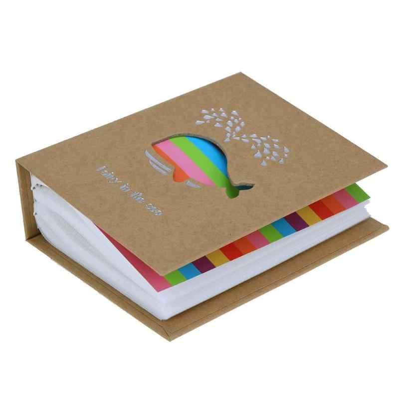 6 Inch 100 Trang Bỏ Túi Interleaf Loại Album Ảnh Hình Ảnh Lưu Trữ Khung Cho Trẻ Em Tặng Thêu Sò Hình Ốp Lưng