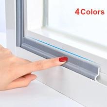 4M-40M Window Sealing Strip Acoustic Foam White for Sliding Door Windows Windproof Soundproof Cotton Seal Door Gap Sound Foam