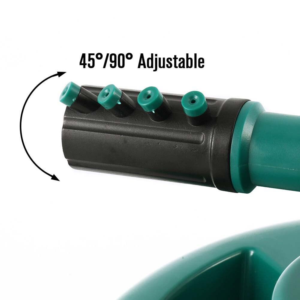 360 Swivel Garten Sprinkler Automatische Bewässerung 3 Arm Sprinkler Wasser Sprayer für Rasen Bewässerung DNJ998