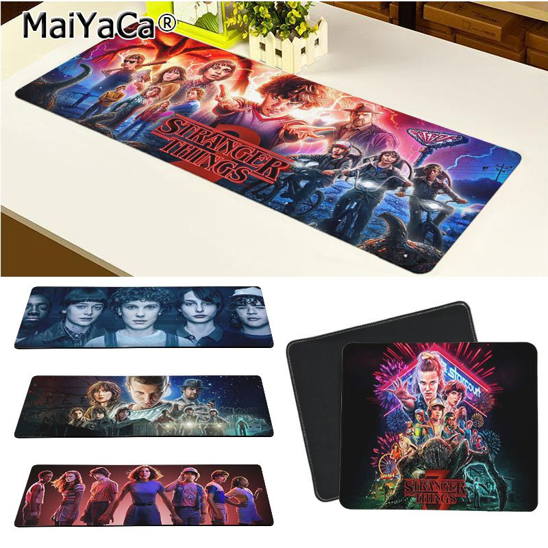 Maiya High Quality Stranger Things Office Mice Gamer Soft Mouse Pad Rubber PC Computer Gaming Mousepad
