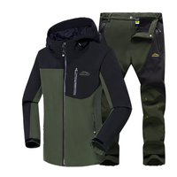 Men's Winter Jackets Warm Suit Outdoor Trekking Breathable jacket Suit For Fishing Climbing Camping Windstopper Sport Jacket