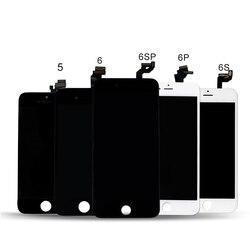 AAAA klasy dla iPhone 5S 6 5C LCD z 3D siły ekran dotykowy Digitizer zgromadzenie dla iPhone6S 7 8Plus wyświetlacz nie martwy piksel